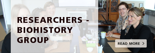 The BioHistory Group Researchers - read more